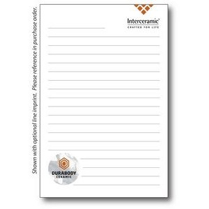 "4"" x 6"" 25-Sheet Notepad"