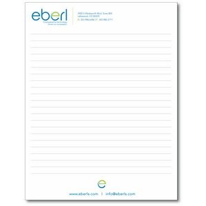 "8 3/8"" x 10 7/8"" 25-Sheet Notepad"