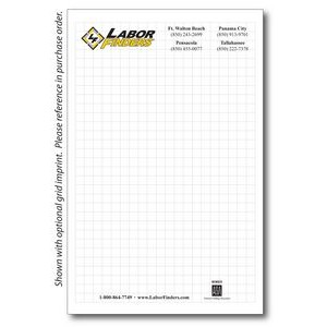 "8 3/8"" x 5 3/8"" 25-Sheet Notepad"